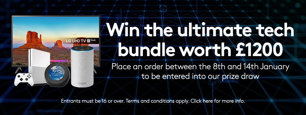 win a tech bundle free uk next day delivery white label packaging free online proofing tool